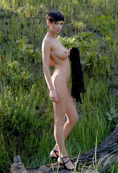Erica in Black mesh from Zemani
