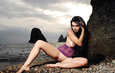 Mirela A in Water solo from Zemani