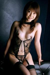 Ayumi Motomura Ready to Serve