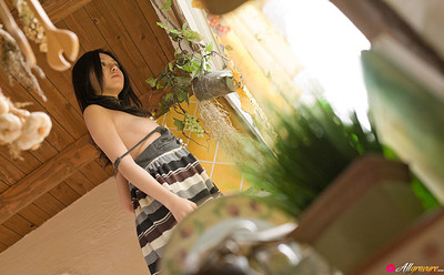 Aino Kishi in Midday Showing from All Gravure