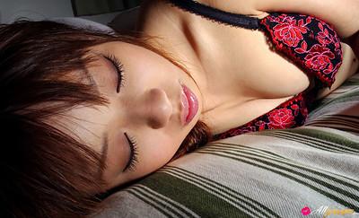 Miyu Momoko in On My Knees from All Gravure