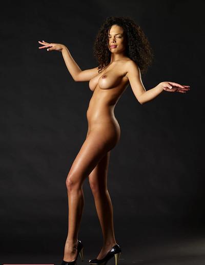 Gabriella in Dark Gold from Hegre Art