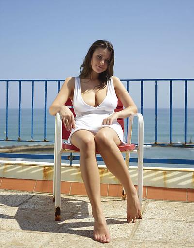 Marjana in Red Chair from Hegre Art