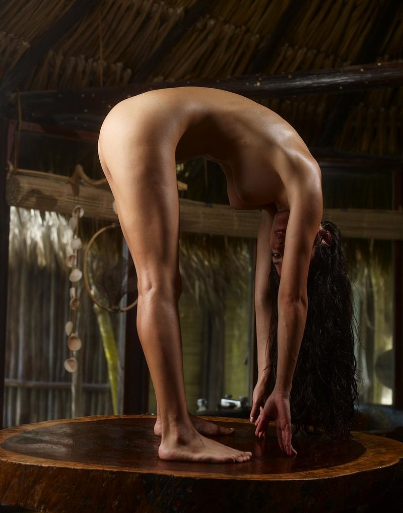 Muriel Wooden Table Leenks Smut Erotic Pics Full HD