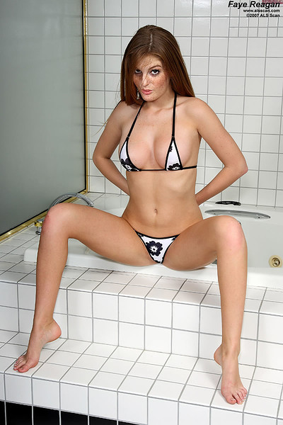 Faye Reagan in In the Shower from ALS Scan