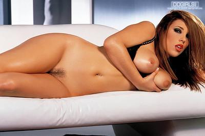 Jelena Jensen in Removes Her Black Bra And Panties from Digital Desire