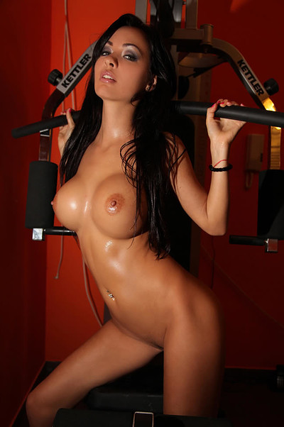 Adrienne in In Top Gym from Photodromm