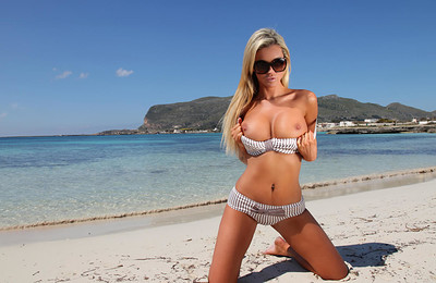 Holly in In The Bikini Test from Photodromm