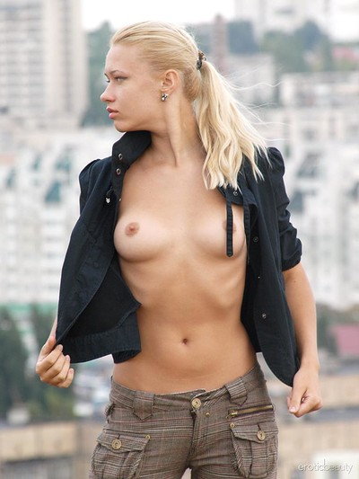 Angie T in In The Park from Erotic Beauty