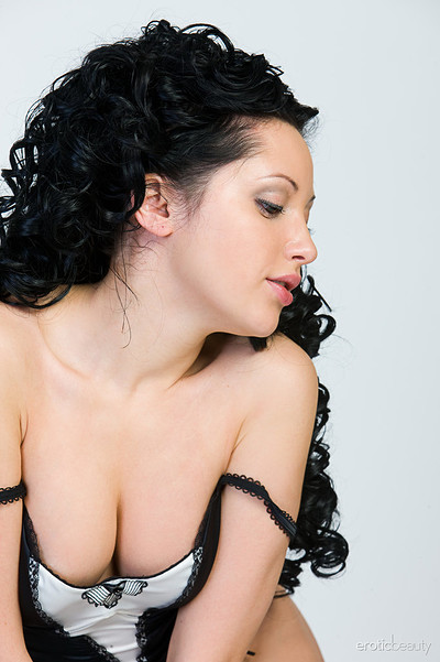 Diamantina A in Black and White from Erotic Beauty