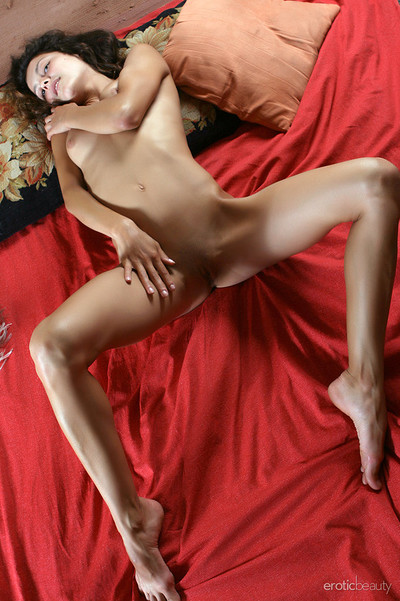 Divina A in On Red from Erotic Beauty