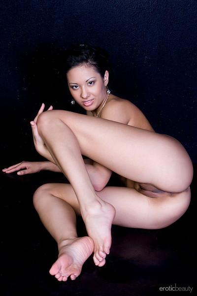 Tasha B in In White from Erotic Beauty