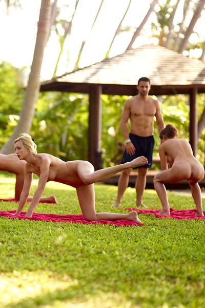 Flora Thea Zaika Beach Fitness