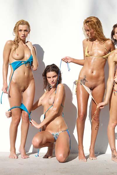 Flora Thea Zaika Bikini Battle