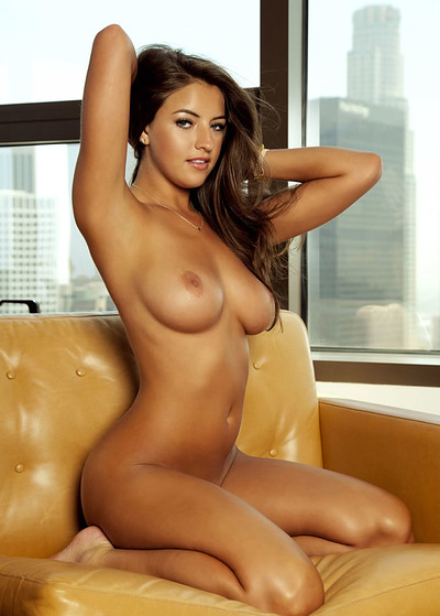 Jessica Workman in A Vibrant Glow from Playboy
