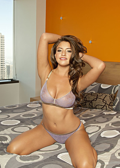 Jessica Workman in City Glamou from Playboy
