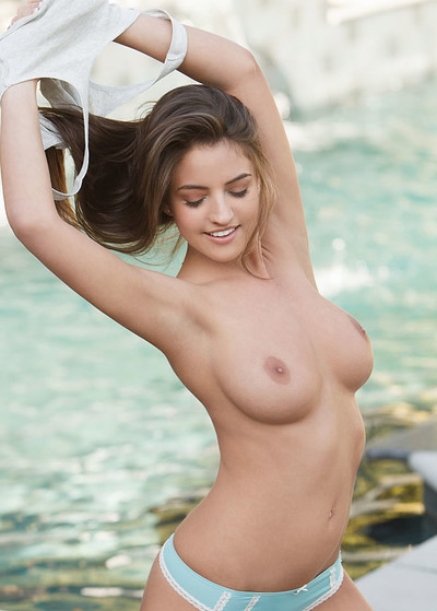 Jessica Workman in Life Guard Babe from Playboy