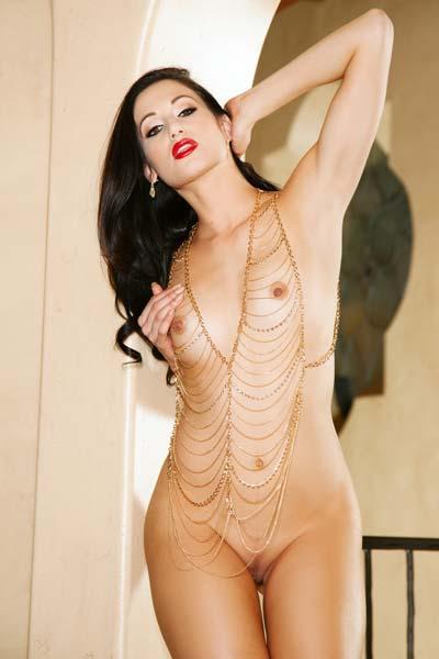 Playboy Nicolette Novak Hallway Honey