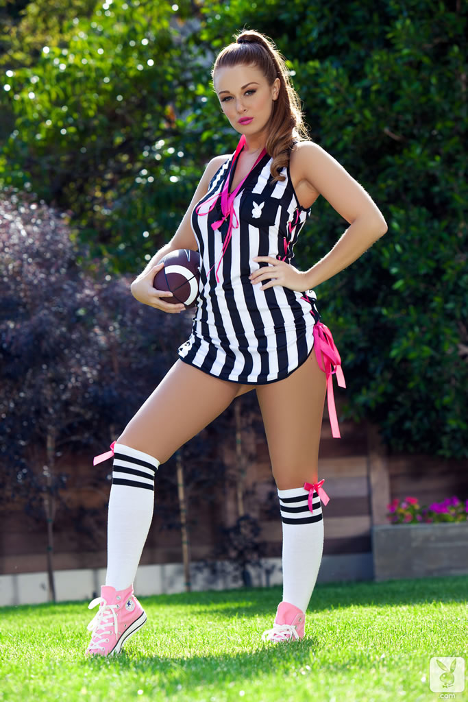 Leanna Decker Nude in Calling Shots - Free Playboy Picture