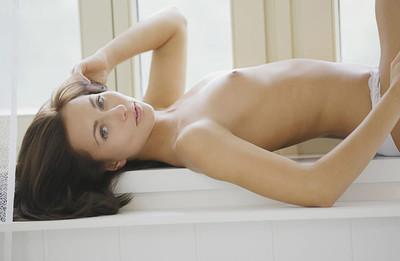 Mila K in Girl In a Room from X Art