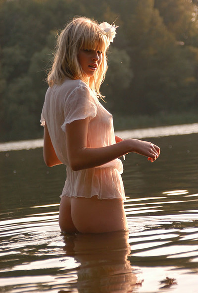 Nastya in Trace On The Water from Zemani