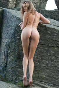 Irena On The Rocks
