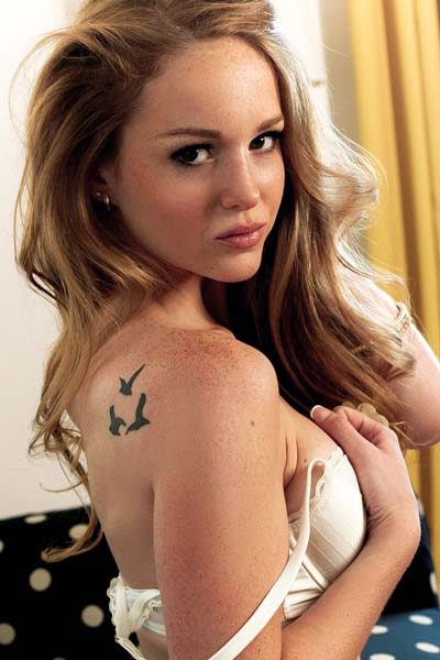 Playboy Cora Banks Young And Wild