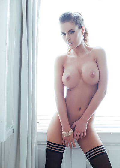 Szandra in Perfect Posture from Playboy