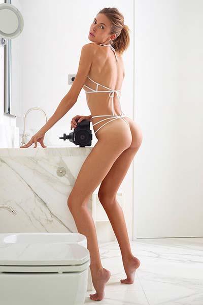 Shoe String Swimsuit