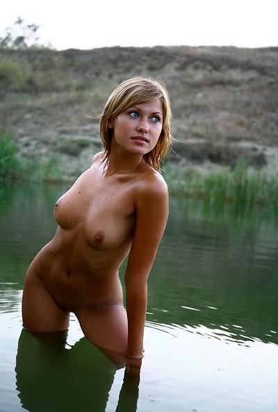 Alisana in Alisana in the lake from Domai