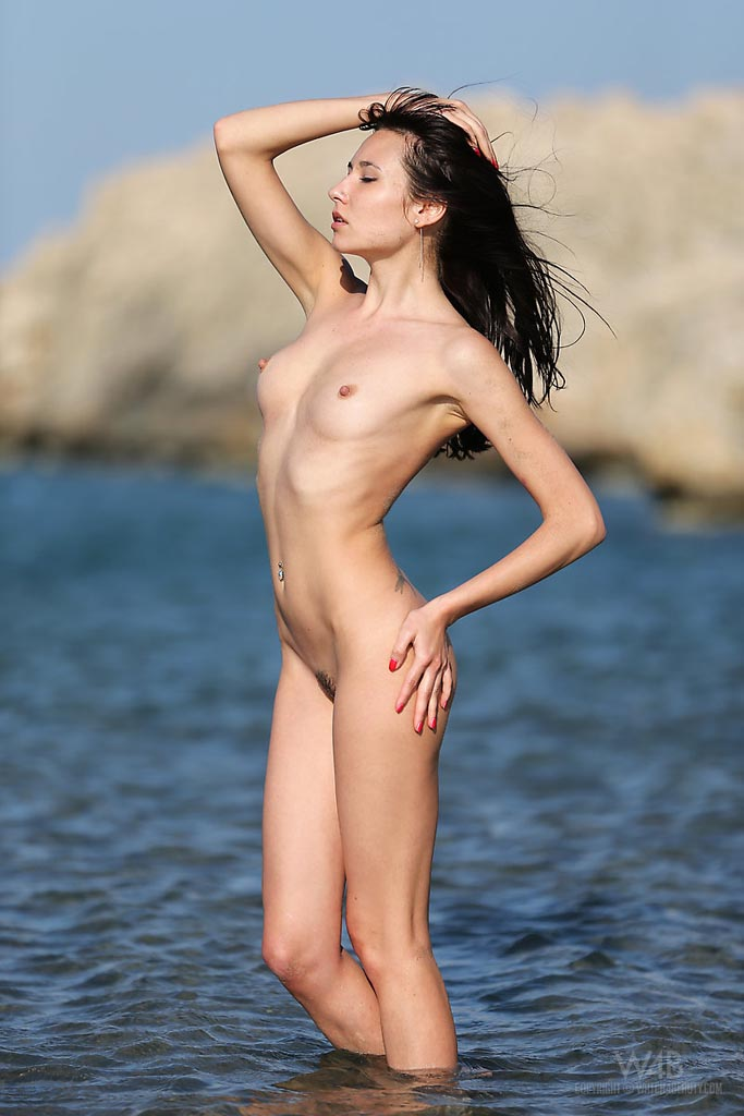 Lusty Little Lila Gets Naked And Displays Her Hairy Snatch