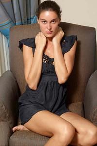 Hegre Zaika Little Black Dress