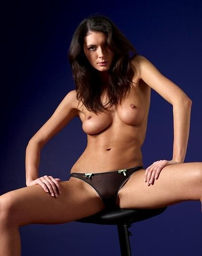 Orsi in Black Thong from Hegre Art