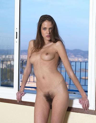 Silvie in Bushy View from Hegre Art