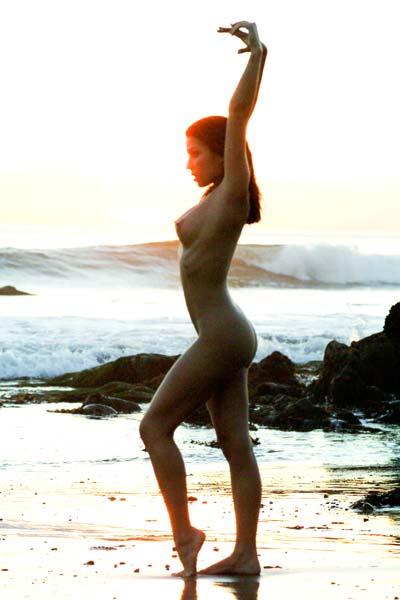 Ann Marie Visits Her Favorite Beach