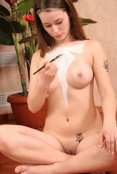 HD porn site photos nude babe body paint