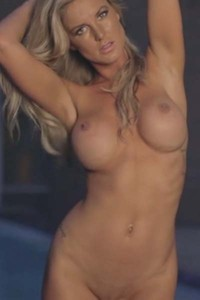 Kimber Cox Poolside Passion Video