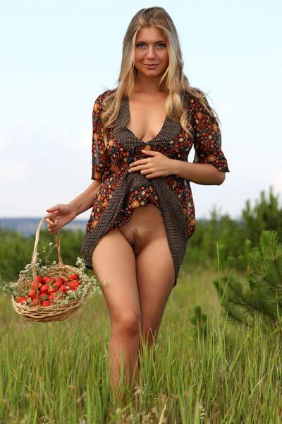 April E Strawberries