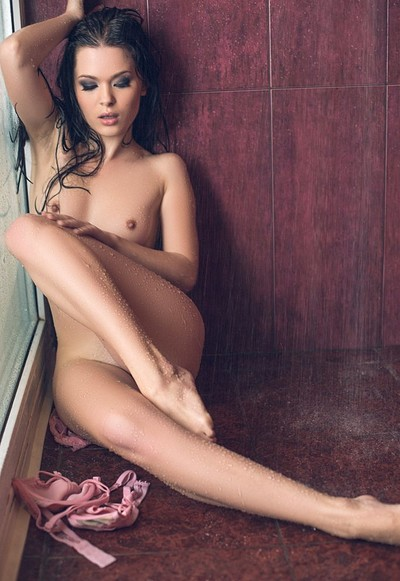 Milena in Intimate Shower from Playboy