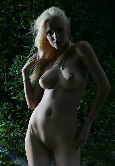 Kira W in Pure White from The Life Erotic
