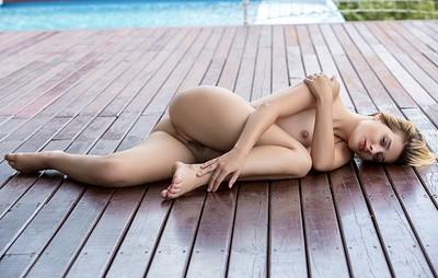 Anna Tatu in One-Piece Tease from Playboy