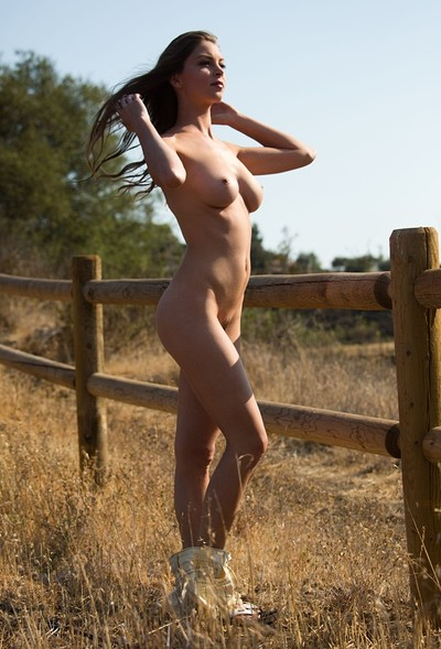 Amber Sym in Amber Sym is taunting us outside from Digital Desire