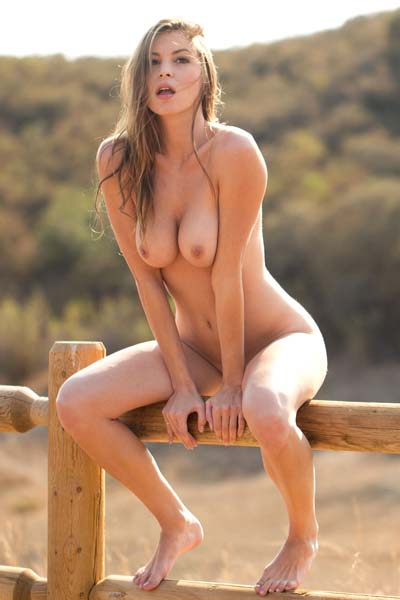 Amber Sym is taunting us outside