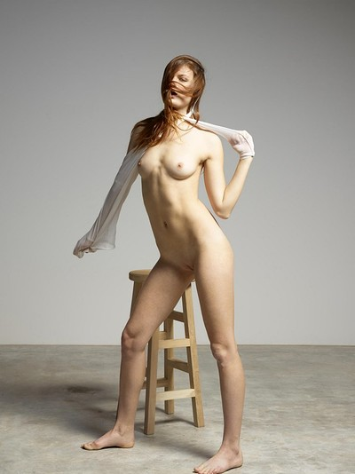 Gia Hill in Posing For Her Twin Sister Noma from Hegre Art