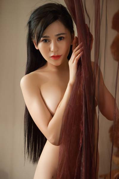 Playboy Spectacular sexy babe Wu Muxi is always ready for some sensual stripping and posing
