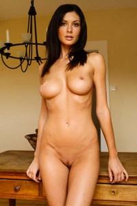 Klaudia displays a flawless body