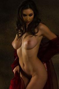 Glamorous and sexy Petula
