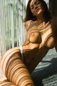 Linda looks amazing in the sun