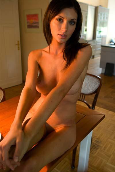 Busty and beautiful Klaudia