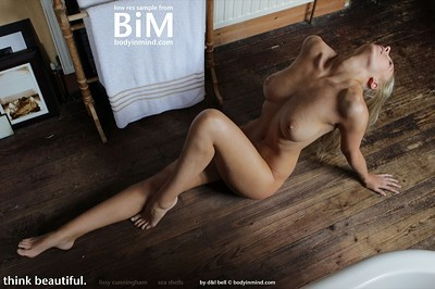 Lissy Cunningham in SeaShell from Body in Mind